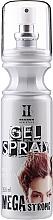 Perfumería y cosmética Gel spray para cabello de fijación megafuerte - Hegron Gel Spray Megastrong
