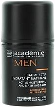 Perfumería y cosmética Bálsamo activo con extracto de abedul y roble - Academie Men Active Moist & Matifying Balm
