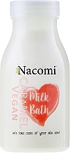 Perfumería y cosmética Leche de baño con proteínas de arroz y aceites naturales, aroma a caramelo - Nacomi Milk Bath Caramel