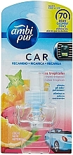 Perfumería y cosmética Recambio de ambientador de cohe con aroma a frutas tropicales - Ambi Pur Air Freshener Refill Tropical Fruits