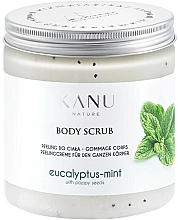 Perfumería y cosmética Exfoliante corporal de sal y semillas de amapola, aroma a eucalipto y menta - Kanu Nature Eucalyptus With Mint Body Scrub