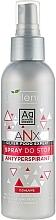 Perfumería y cosmética Spray antitanspirante para pies con aceite de árbol de té, pantenol y nano plata - Bielenda ANX Podo Detox Foot Antiperspirant Spray