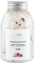 Perfumería y cosmética Sales de baño minerales con aroma a rosa - Kanu Nature Rose Mineral Bath Salt