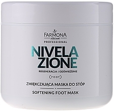 Perfumería y cosmética Mascarilla para pies con aceite de almendras & vitamina E - Farmona Professional Nivelazione Softening Foot Mask