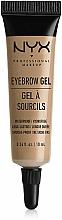 Perfumería y cosmética Gel fijador para cejas - NYX Professional Makeup Eyebrow Gel
