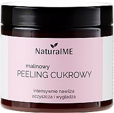 Perfumería y cosmética Exfoliante corporal de azúcar con polvo de frambuesa - NaturalME