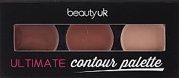 Perfumería y cosmética Paleta de contorno facial - Beauty UK Ultimate Contour Palette
