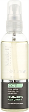 Perfumería y cosmética Gotas revitalizantes para cabello con aceite de argán - Markell Cosmetics Natural Line
