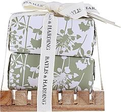 Perfumería y cosmética Set (jabón/2x200g) - Baylis & Harding Urban Barn Lime, Basil & Mint