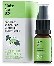 Perfumería y cosmética Crema contorno de ojos con vitamina E y extracto de pepino - Make Me BIO