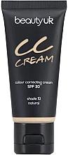 Perfumería y cosmética CC crema facial, SPF 30 - Beauty UK CC Cream SPF 30
