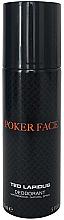Perfumería y cosmética Ted Lapidus Poker Face - Desodorante spray