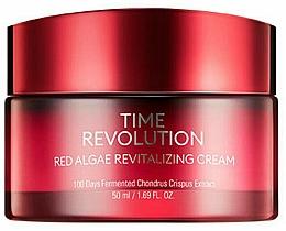 Perfumería y cosmética Crema facial revitalizante con extracto de algas rojas - Missha Time Revolution Red Algae Revitalizing Cream