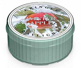 Perfumería y cosmética Vela de té aromática, manzana de invierno - Kringle Candle Winter Apple Daylight