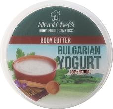 Perfumería y cosmética Manteca corporal con extracto de yogur búlgaro - Stani Chef's Bulgarian Yogurt Body Butter