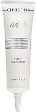 Perfumería y cosmética Crema de noche para contorno de ojos con retinol y aceite de aguacate - Christina Wish Night Eye Cream
