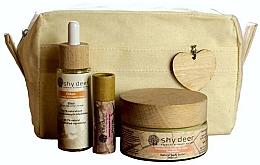 Perfumería y cosmética Set (elixir/30ml+manteca corporal/100ml+ manteca labial/12ml+neceser) - Shy Deer Zero Waste Set