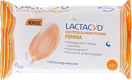 Perfumería y cosmética Toallitas húmedas íntimas hipoalergénicas con ácido L-láctico natural - Lactacyd Femina Intimate Hygiene Wipes