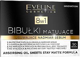 Perfumería y cosmética Toallitas faciales matificantes - Eveline Cosmetics 8in1