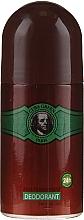 Perfumería y cosmética Cuba Green Deodorant - Desodorante antitranspirante roll-on, sin alcohol