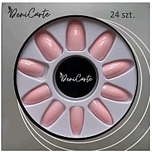 Perfumería y cosmética Uñas postizas, 6697, color nude - Deni Carte