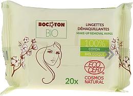 Perfumería y cosmética Toallitas orgánicas húmedas para desmaquillaje 100% algodón - Bocoton Bio Hydra