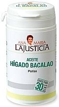 Perfumería y cosmética Complemento alimenticio de Aceite de Hígado de Bacalao, en perlas - Ana Maria Lajusticia