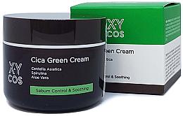 Perfumería y cosmética Crema facial seborreguladora con extracto de centella asiática y aloe - XYcos Cica Green Cream