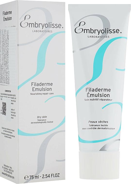 Emulsión facial natural con manteca de karité, cera de abeja y aloe para pieles secas - Embryolisse Filaderme Emulsion