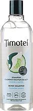 Perfumería y cosmética Champú detox con extracto de pepino, sin siliconas y colorantes - Timotei Detox Fresh Shampoo