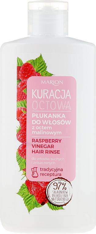 Acondicionador para cabello seco y dañado con vinagre de frambuesa - Marion Raspberry Vinegar Hair Rinse