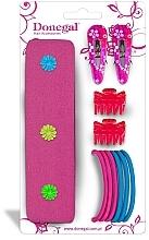 Perfumería y cosmética Set accesorios para cabello FA-5479, 11uds. - Donegal