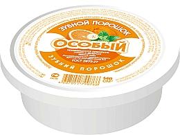Perfumería y cosmética Polvo dental con naranja y limón, efecto antiinflamatorio - Fito Cosmetic