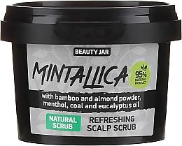 Perfumería y cosmética Exfoliante refrescante para cuero cabelludo con polvo de bambú & almendra - Beauty Jar Mintallica Refreshing Scalp Scrub