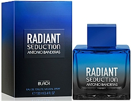 Perfumería y cosmética Antonio Banderas Radiant Seduction in Black - Eau de toilette