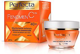 Perfumería y cosmética Crema facial con ciruela kakadu y retinol - Perfecta Fenomen C 40+ Cream