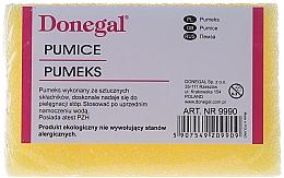 Perfumería y cosmética Piedra pómez, 9990, amarilla - Donegal