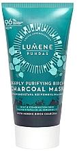 Perfumería y cosmética Mascarilla facial de purificante con carbón de abedul - Lumene Puhdas Deeply Purifying Birch Charcoal Mask