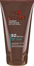 Perfumería y cosmética Gel-crema protectora solar refrescante, SPF 50 - Piz Buin Hydro Infusion SPF 50
