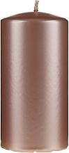 Perfumería y cosmética Vela decorativa color oro rosa 14cm - Artman Opal Candle