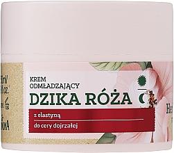 Perfumería y cosmética Crema facial con extracto de escaramujo y ácido hialurónico - Farmona Herbal Care Rejuvenating Cream