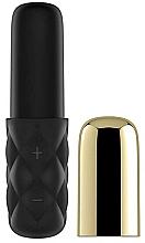 Perfumería y cosmética Mini vibrador, negro y dorado - Satisfyer Mini Lovely Honey