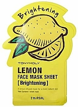 Perfumería y cosmética Mascarilla facial hidratante con extracto de limón - Tony Moly I'm Real Lemon Mask Sheet