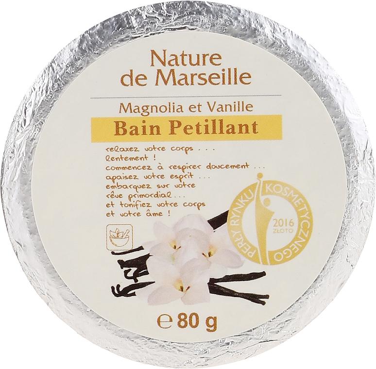 Bomba de baño con aroma a magnolia y vainilla - Nature de Marseille Magnolias&Vanilla