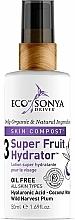 Perfumería y cosmética Crema facial hidratante con ácido hialurónico y agua de coco - Eco by Sonya Super Fruit Hydrator