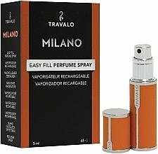 Perfumería y cosmética Atomizador recargable, vacío - Travalo Milano Orange