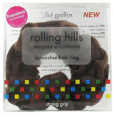 Coletero, marrón - Rolling Hills Scrunchie Hair Rings Brown