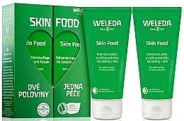 Perfumería y cosmética Set - Weleda Skin Food (crema hidratante/2x75ml)