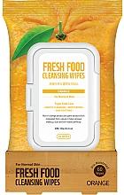 Perfumería y cosmética Toallitas húmedas de limpeza facial con extracto de naranja, pieles normales - Superfood For Skin Fresh Food Facial Cleansing Wipes