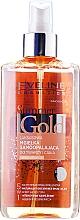 Perfumería y cosmética Bruma autobronceadora para rostro y cuerpo 5 en 1 con aceite de argán - Eveline Cosmetics Summer Gold Spray